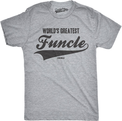 World's Greatest Funcle Men's Tshirt
