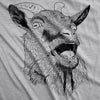 Youth Ask Me About My Goat Animal Zoo Flip Shirt for Kids