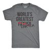 World's Greatest Farter Father Men's Tshirt