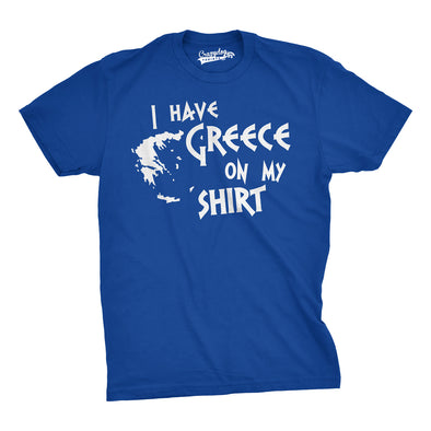 I Have Greece On My Shirt Men's Tshirt