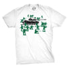 Little Green Army Men T Shirt Vintage Funny Logo Shirts Military Novelty Toy Tee