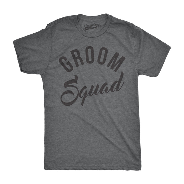 Groom Squad Men's Tshirt