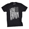 Vertical Grunge Flag Men's Tshirt