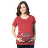 Maternity Guess What Santa Bringing Pregnancy Announcement Funny Christmas Shirt