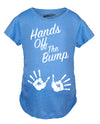 Maternity Hands Off The Bump Cute Pregnancy Shirt Fun Pregnant Gift Announcement