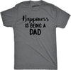 Happiness Is Being a Dad Men's Tshirt