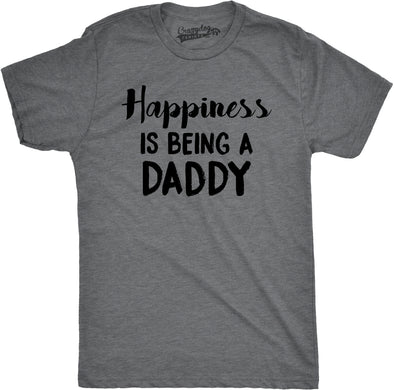 Happiness is Being a Daddy Men's Tshirt