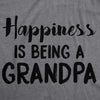Happiness is Being a Grandpa Men's Tshirt