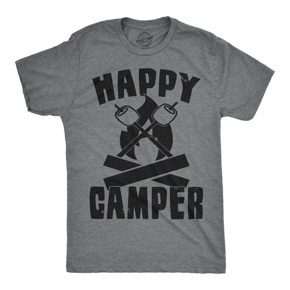 Happy Camper Men's Tshirt