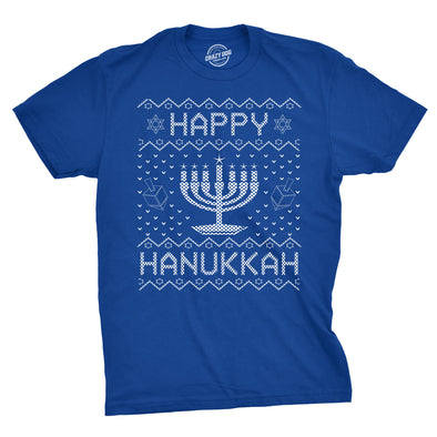 Happy Hanukkah Men's Tshirt