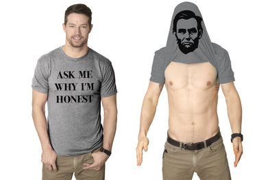 Ask Me Why I'm Honest Men's Tshirt