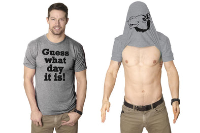Guess What Day It Is Flip Men's Tshirt