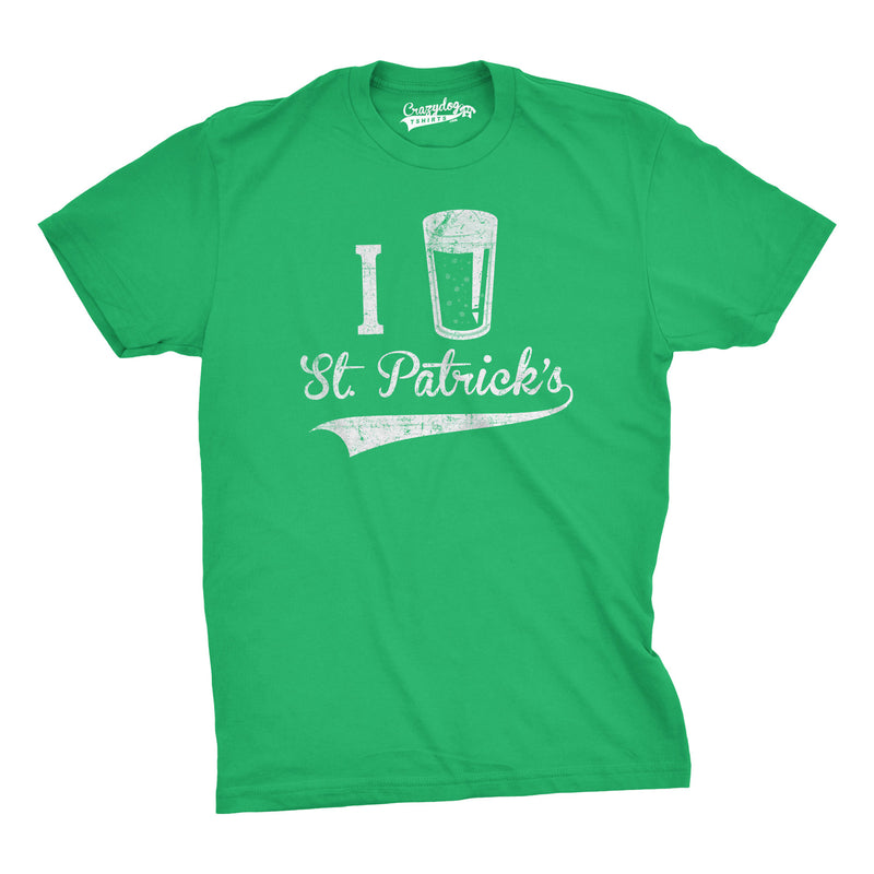 I Beer Saint Patricks Day T Shirt Funny St Paddys Day Drinking Tee