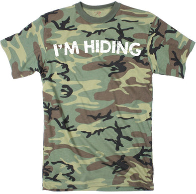 I'm Hiding Men's Tshirt