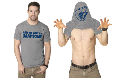 Ask Me Why I'm Jawsome Flip Men's Tshirt