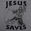 Jesus Saves Hockey Men's Tshirt