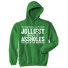 Jolliest Bunch of A-holes Hoodie Funny Christmas Movie Quote Holiday Unisex Sweatshirt