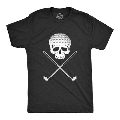 Golf Jolly Roger Men's Tshirt