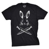 Jolly Roger Easter T Shirt Funny Bunny Skull Crossbones Egg Hunt Dad Flag Tee