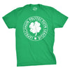 Leprechaun Protection League Men's Tshirt