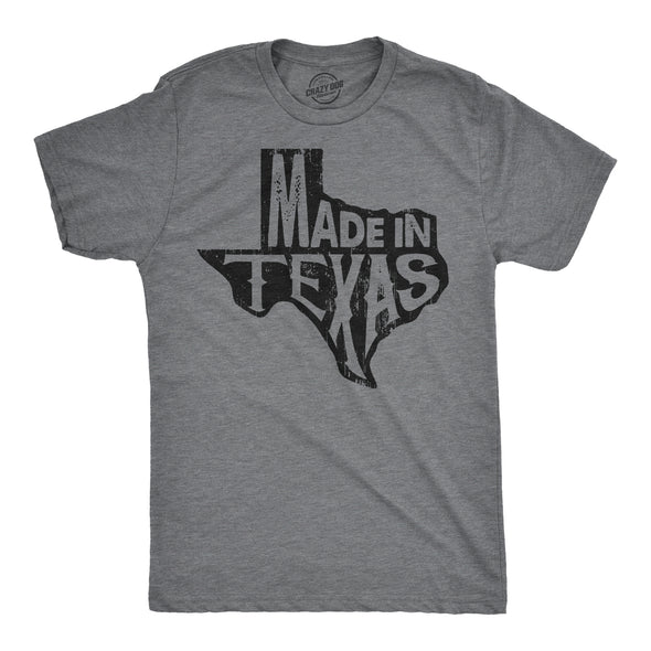 Made In Texas Men's Tshirt