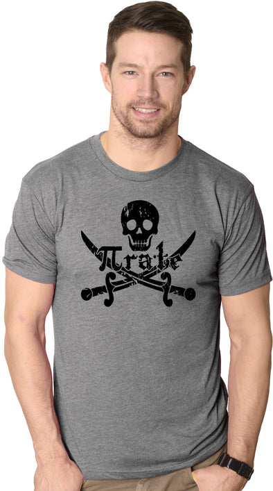 Pirate Skull and Crossbones Math Pi-Rate T-Shirt Funny Mathematical Shirt