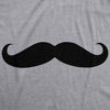 Ask Me About My Stache Funny Mustache Shirt Flip Mens Tee