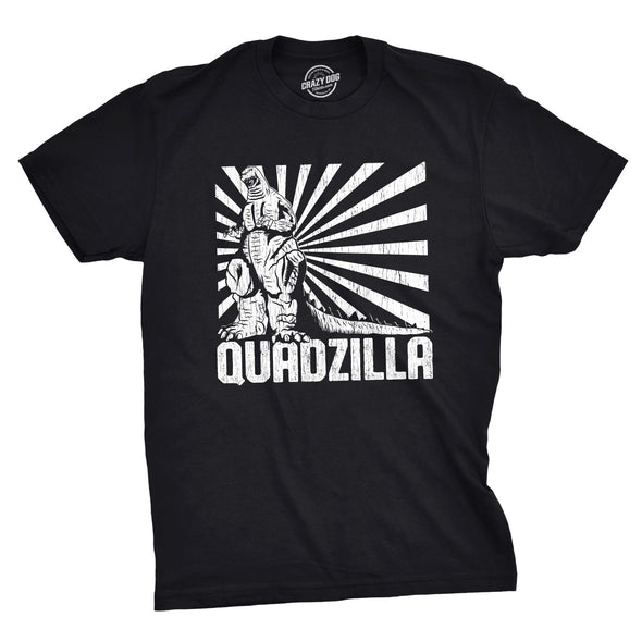 Quadzilla Men's Tshirt