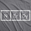 Nerdy Periodic Table Women's Tshirt