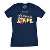 Womens Noble Gases Science T Shirt Funny Nerdy Tee for Geeks Cool Graphic