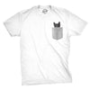Pocket Cat Men's Tshirt