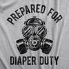 Prepared For Diaper Duty Men's Tshirt