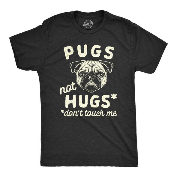 Pugs Not Hugs Coronavirus Men's Tshirt