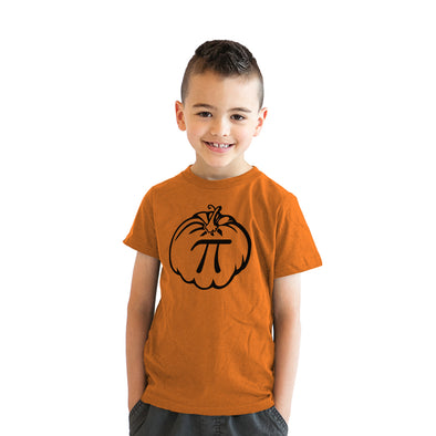 Youth Pumpkin Pi T Shirt Funny Math Shirt Pie Tee Thanksgiving Tee for Kids