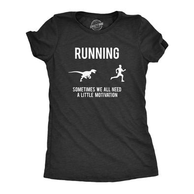 Womens Running Motivation T shirt Funny Running T shirts Sarcasm Humor Run Novelty Tees