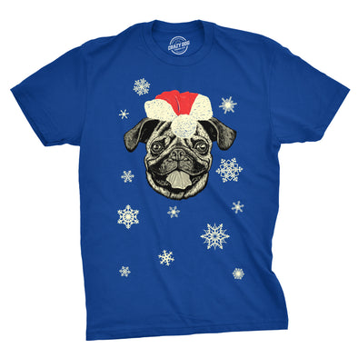 Santa Pug Ugly Christmas Sweater Men's Tshirt