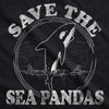 Save The Sea Pandas Men's Tshirt