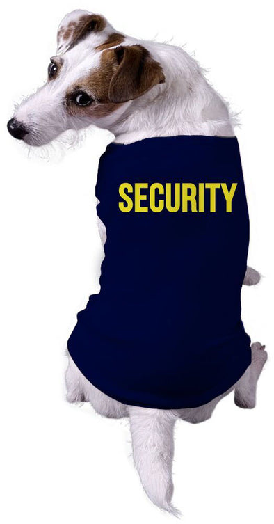 Dog Shirt Security Funny Sarcastic Tee For Puppy