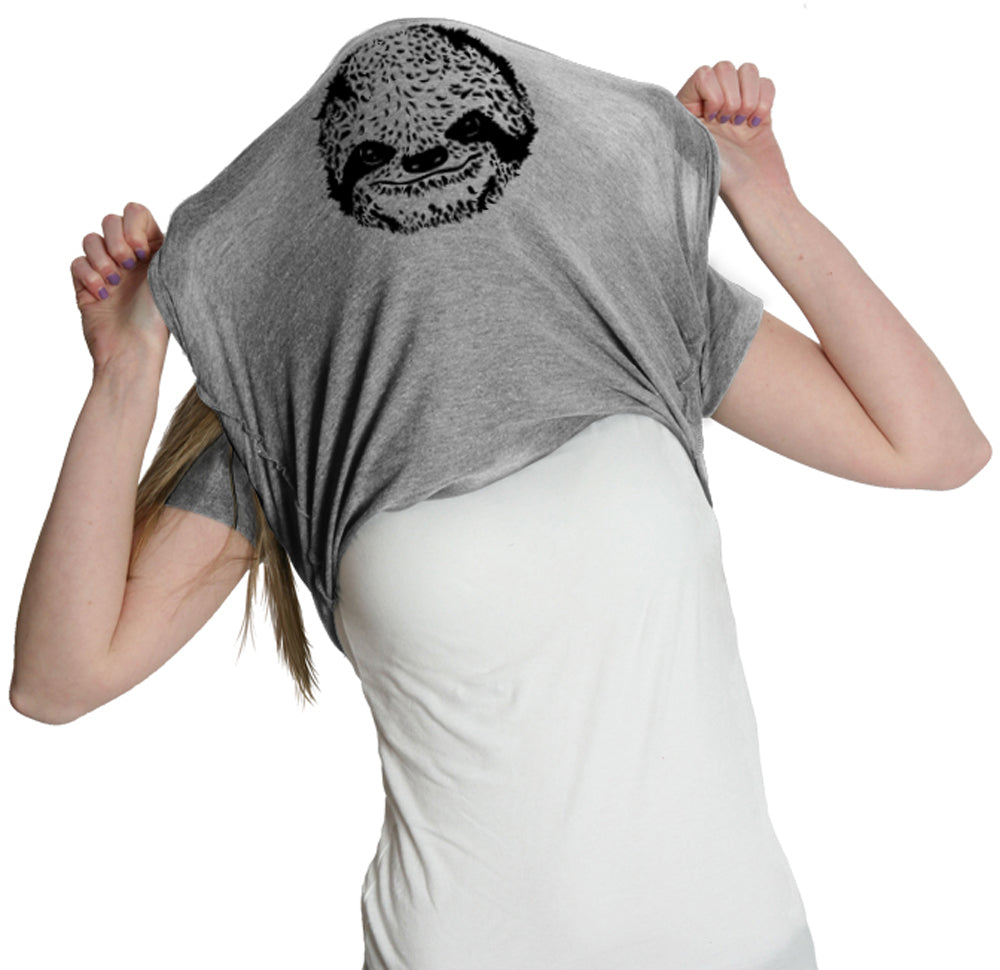 Ask Me Why I/'m Lazy Cool T-Shirt Funny Sloth Tee Men/'s All Sizes