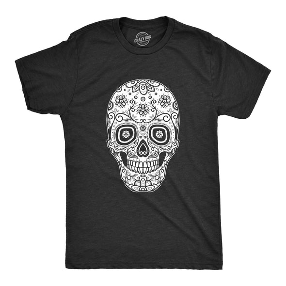 Sugar Skull Cinco De Mayo Men's Tshirt