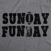 Sunday Funday Vintage Football Men's Tshirt
