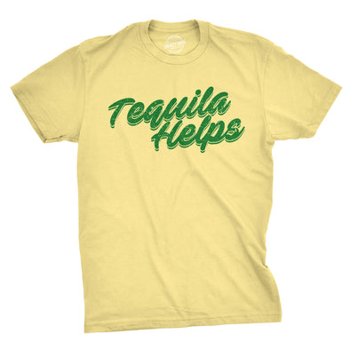Tequila Helps Men's Tshirt