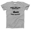 They See Me Trollin T Shirt Funny Fishing Shirts Fish Jokes Summer Camping