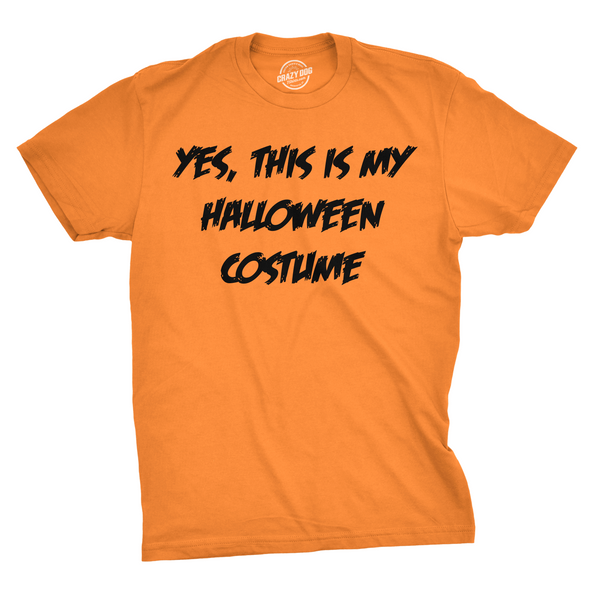 This Is My Halloween Costume Men's Tshirt