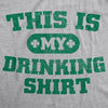This Is My Drinking Shirt Men's Tshirt