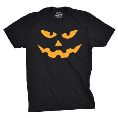 Triangle Nose Pumpkin Face Halloween Men's Tshirt