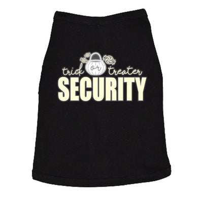 Trick Or Treater Security Dog Shirt