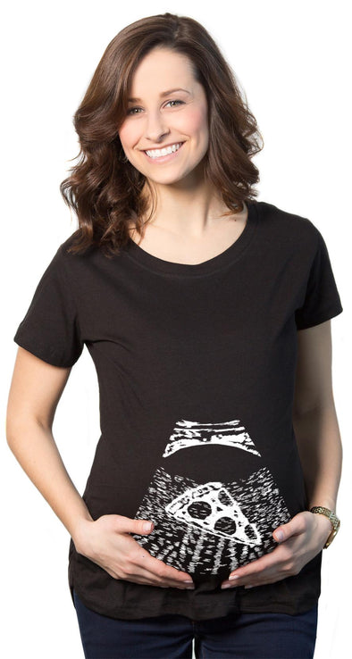 Maternity Ultrasound Pizza Funny T shirt Cheap Pregnancy Shirts Cool Novelty