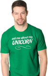 Funny Unicorn Flip T-Shirt - Turn Into a Magical Unicorn Shirt