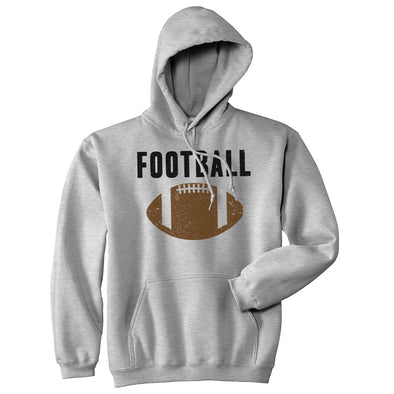 Vintage Football Sweater Cool Sports Funny Graphic Novelty Hoodie